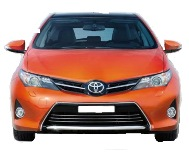 New model Toyota Corolla