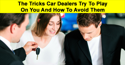 Photo of couple buying a car