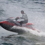 Photo of a Jetski in the ocean