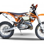 Photo of a KTM Dirt Bike
