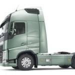 Photo of a Volvo prime mover