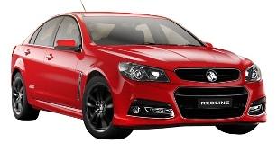 Photo of Holden Commodore SSV Redline
