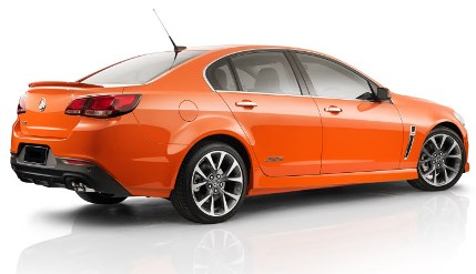 Photo of new VF Commodore
