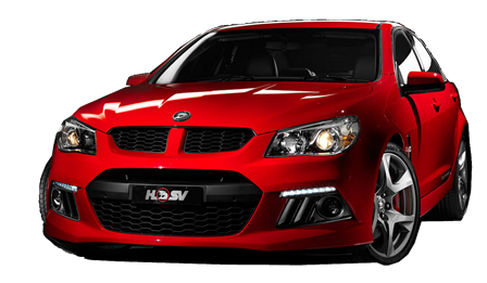 Photo of HSV red sedan